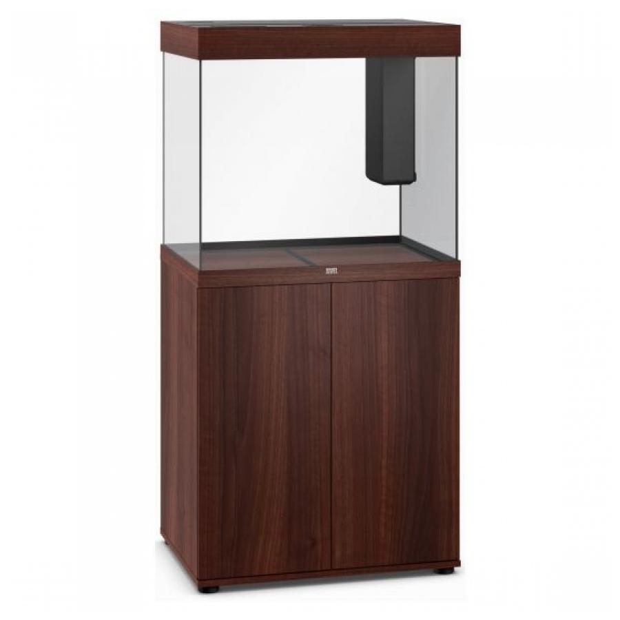 Juwel Lido 200 SBX Aquariumcombinatie met LED-verlichting, verwarming, filter en onderkast, Donker hout