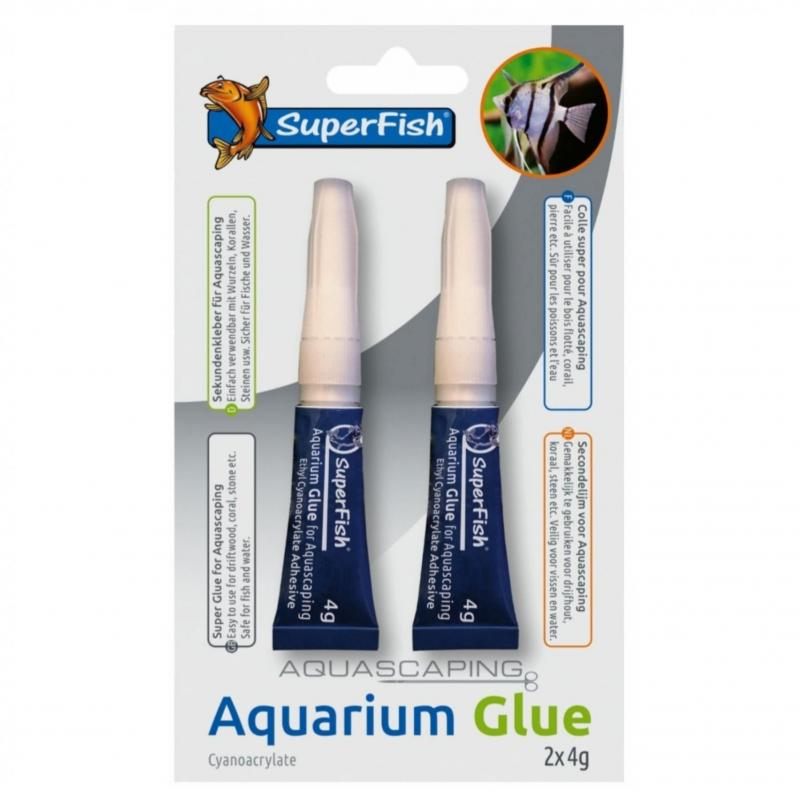 Aquascaping lijm Superfish 4 gram (2 stuks)