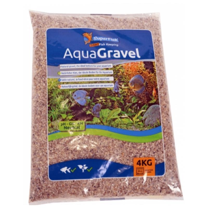 SuperFish AquaGravel grind licht 1-2 Mm 4 Kg
