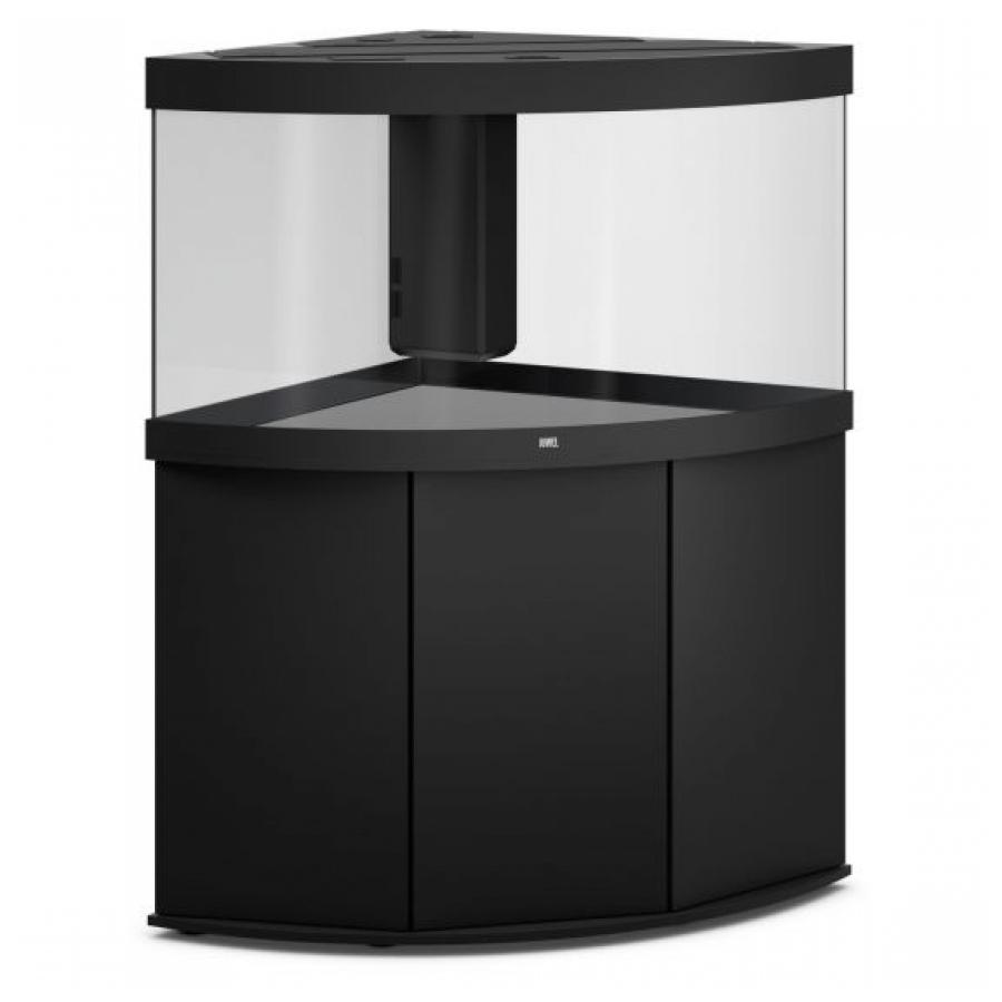 JUWEL Trigon 350 SBX Aquariumcombinatie met LED-verlichting, filter, verwarming en onderkast. Zwart