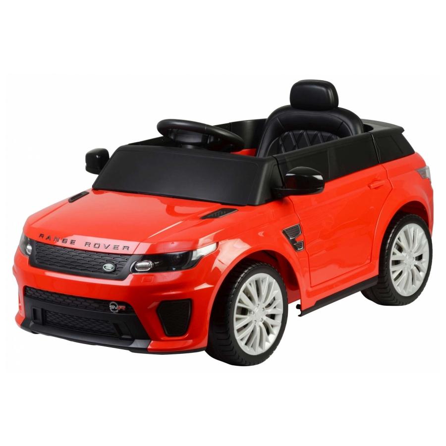 Elektrische auto Range Rover Sport SVR rood