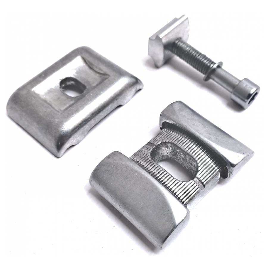 Zadelstrop Cycletech Kaloy inbusplaat zilver