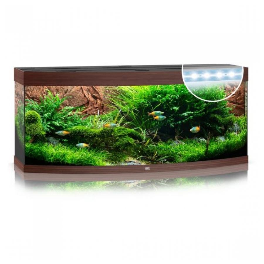 Juwel Aquarium Vision 450 Led Donker Hout