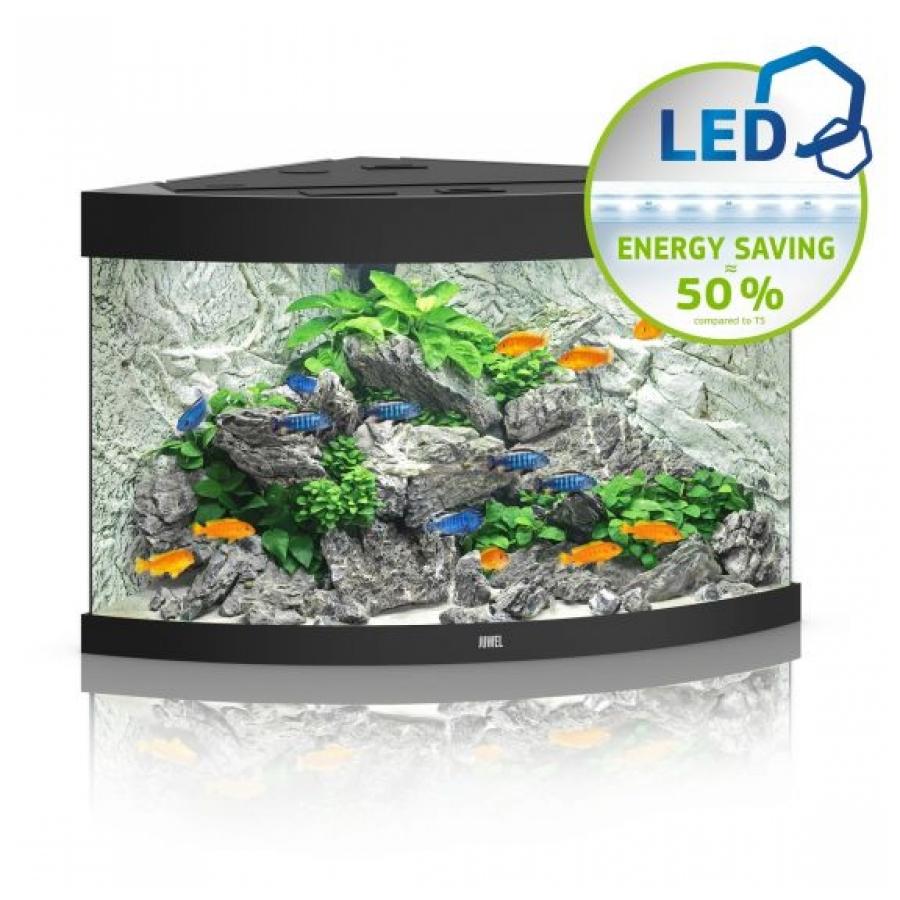 Juwel Aquarium Trigon 190 Led Zwart