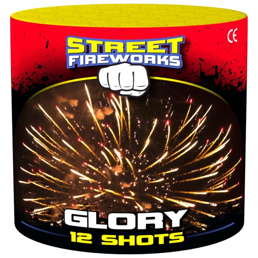 Street Fireworks Glory