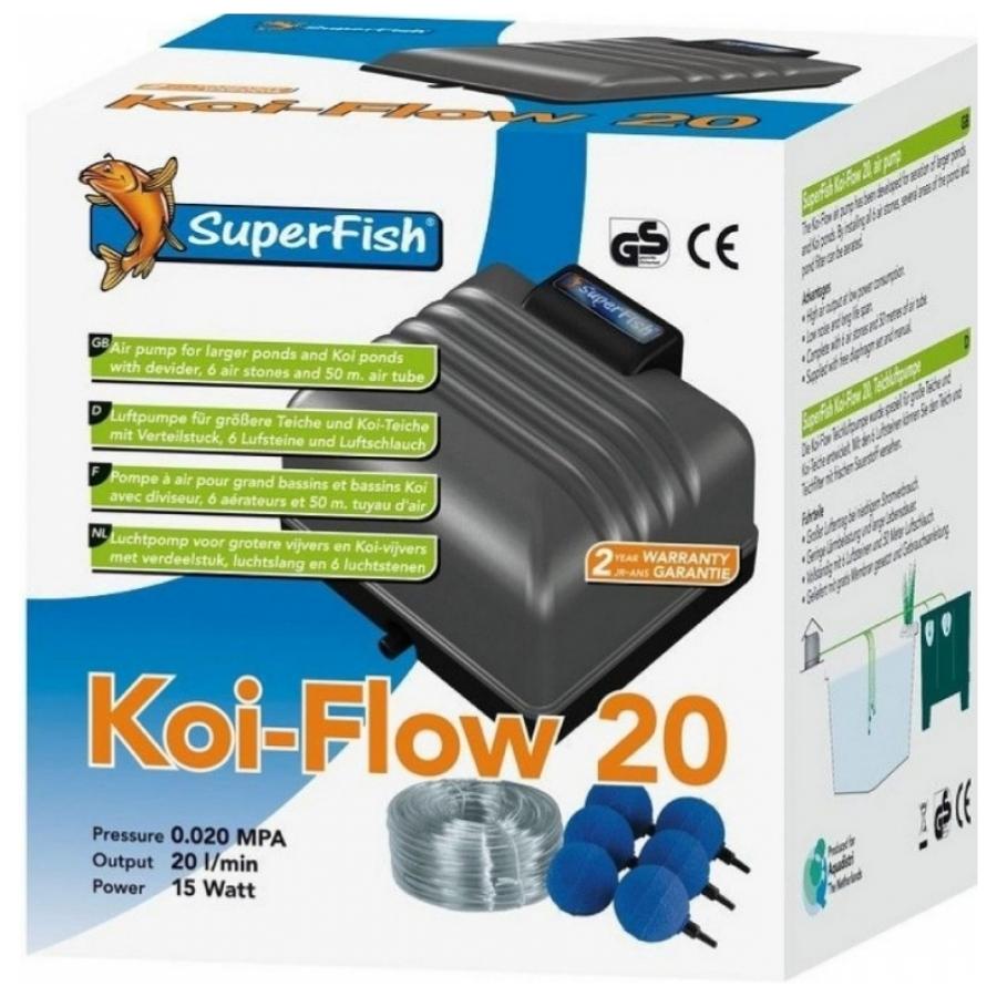 Superfish koi-flow 20 set