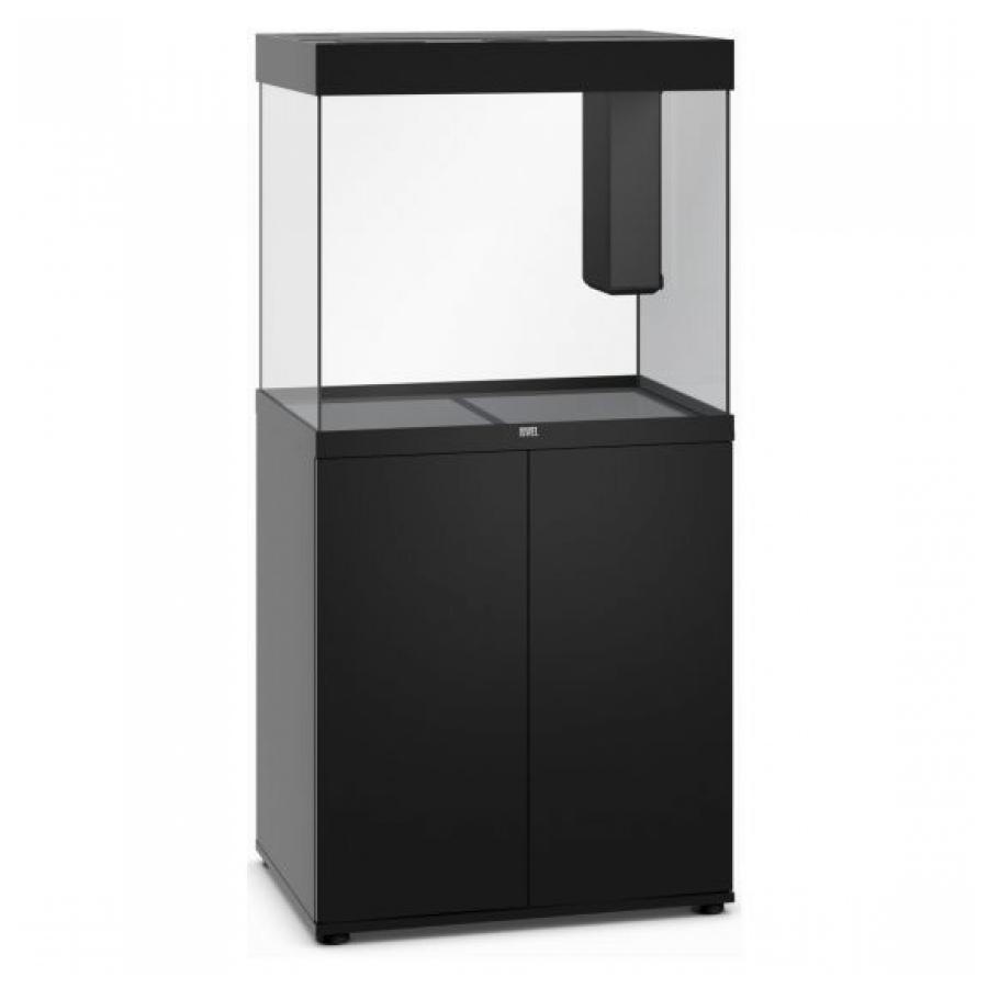 Juwel Lido 200 SBX Aquariumcombinatie met LED-verlichting, verwarming, filter en onderkast onderkast, Zwart