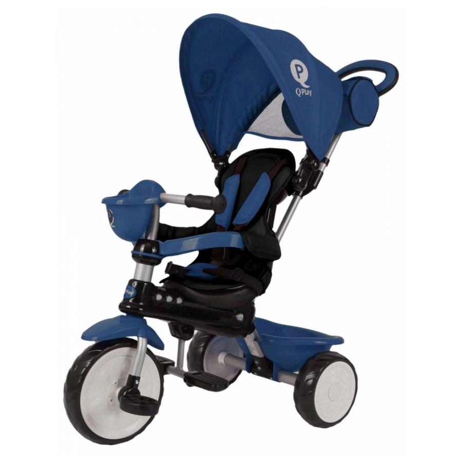 Driewieler QPlay Comfort blauw