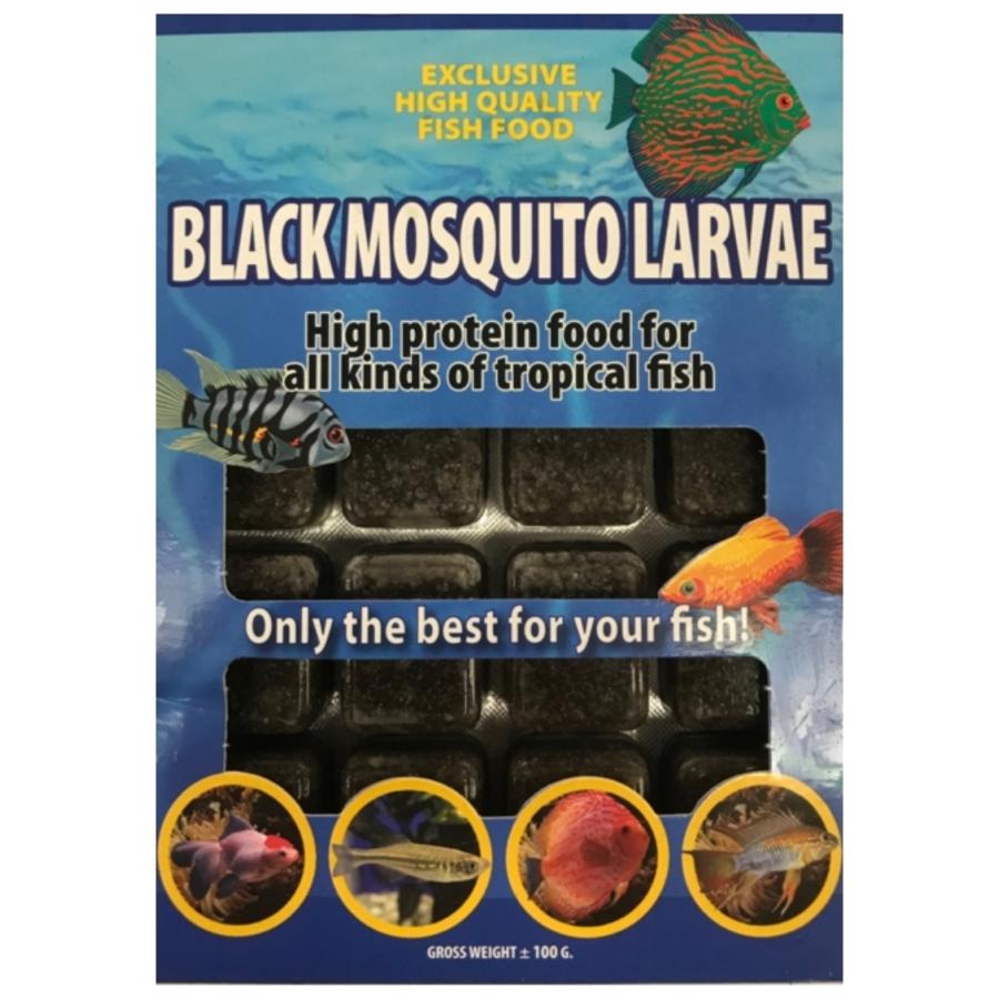 Zwart muggenlarven 100g
