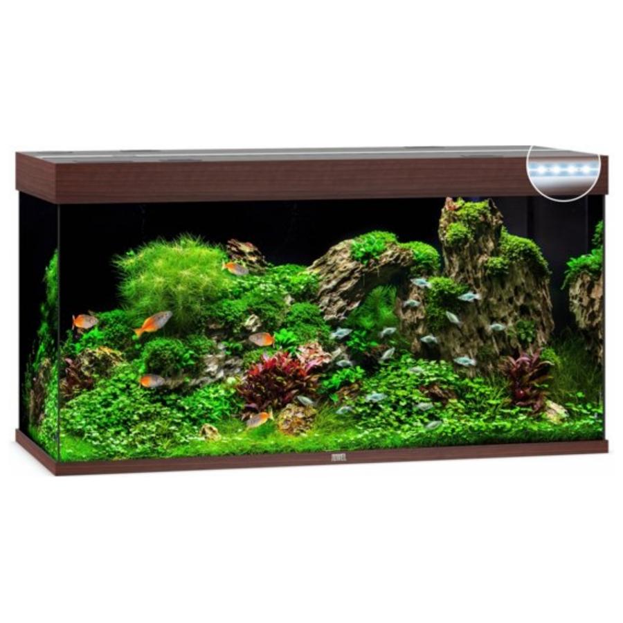 Juwel Aquarium Rio 350 Led - Donkere houtkleur